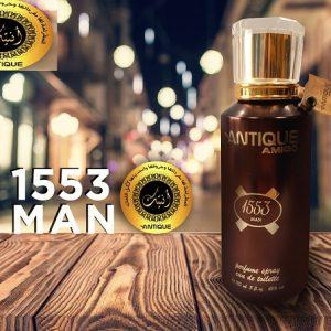 ANTIQUE 1553 MEN – PERFUME SPRAY EDT 150ML/ Oriental & Floral