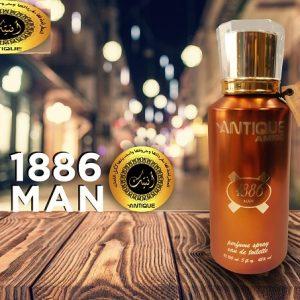 ANTIQUE 1886 MEN – PERFUME SPRAY EDT 150ML/ Oriental & Woody