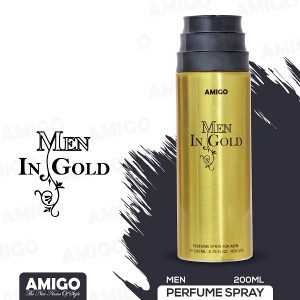 MEN IN GOLD-MEN G/Spray 200ML/ Aromatic