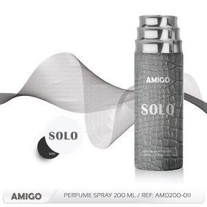 SOLO-MEN G/Spray 200ML/ Woody & Aromatic