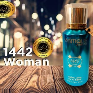 ANTIQUE 1442 WOMEN – PERFUME SPRAY EDT 150ML/ Woody & Fruity